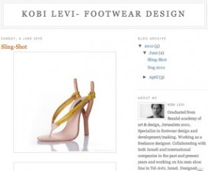 Kobi Levi- Footwear Design
